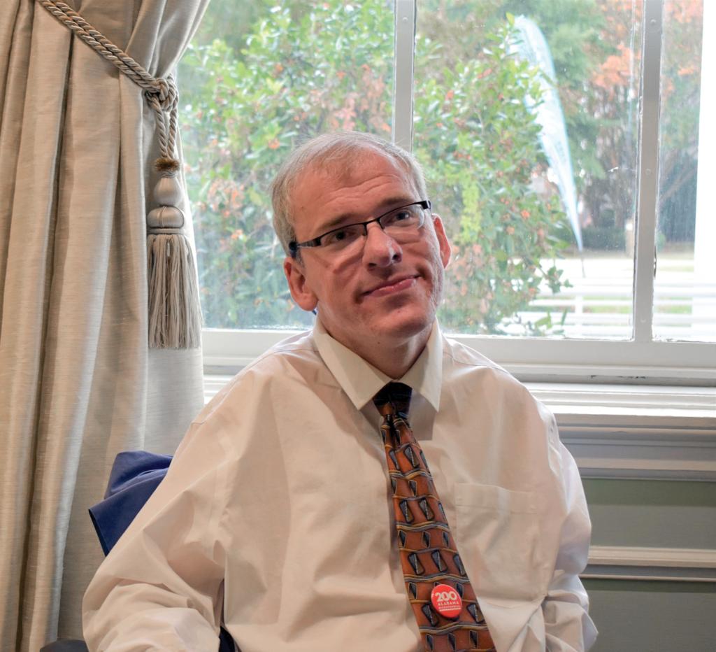 A portrait of Dr. Eric Peebles