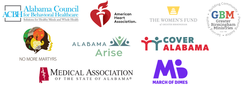 Alabama Arise and Cover Alabama partner organization logos